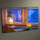 Duvar Tasarım DLC 3016 Ledli Kanvas Tablo - 50x70 cm
