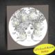 Duvar Tasarım 1048 Led Işıklı Mandala Boyanabilir Kanvas Tablo (Kalem Hediyeli) - 35x35 cm
