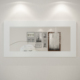Eyibil Mobilya Modern Duvar Aynası 120-60 cm