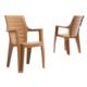 Novussi Contract Elegance Wood Sandalye - Kahve