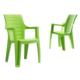 Novussi Contract Elegance Wood Sandalye - Açık Yeşil