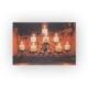 Deco Şamdandaki Mumlar Led Işıklı Tablo