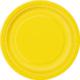 Parti Şöleni Sarı Karton Tabak 8 Adet