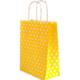 Parti Şöleni Sarı Puantiyeli Craft Çanta