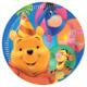 Parti Şöleni Winnie The Pooh Tabak 8 Adet