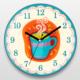 If Dizayn Mutfak için Kahve Tasarım Duvar Saati