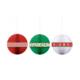 KullanAtMarket Yılbaşı Renkleri Petek Fener Seti -3 Adet