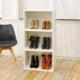 Evmanya Haus Boo Beyaz Üçlü Şık Ayakkabılık