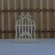 Tahtakale Toptancısı Ahşap Kafes Çift Kuşlu Lazer Kesim Obje (20 Adet)