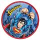 Tahtakale Toptancısı Tabak Superman Temalı 23 Cm (8 Adet)