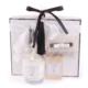Keseli Üçlü Kolonya Mum Sabun Set