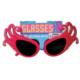 Tvs Dame Edna Gözlüğü 50 li Yıllar Gözlük Kırmızı Renk