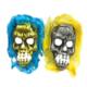 Tvs Saçlı İskelet Maskesi 5 Renk