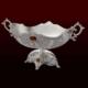 Gümüş Gondol Kehribar Taşlı Kararmaz 7001M-15St-Kh