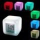 Vip 7 Renk Değiştiren Alarmlı Dijital Küp Saat