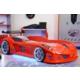 Setay Jaguar Arabalı Yatak Full Ledli Rüzgarlıklı Kırmızı