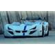 Setay Mercedes Arabalı Yatak Full Ledli Beyaz