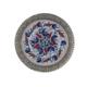 El Yapımı 18 cm Seramik ve Gümüş Kaplama Tabak