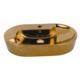 Creavit Set Üstü Lavabo 45X70 Cm Altın Kaplama