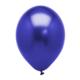 Elitparti Mavi Metalik Renkli Balon 5'li