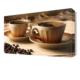 Dekor Sevgisi Kahve Fincanları Canvas Tablo 45x30 cm