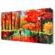 Dekor Sevgisi Birlikte Olmanın Yolları Canvas Tablo 45x30 cm