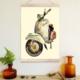 Decor Desing Askılı Deri Duvar Posteri Hak129