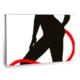 Fotografyabaskı Woman With Devil Tail Tablo 75 Cm X 50 Cm Kanvas Tablo Baskı