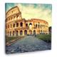 Fotografyabaskı Büyük Kolozyum Tablosu İtalya 70 Cm X 70 Cm Kanvas Tablo Baskı