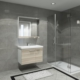 Boncuk Banyo Gag 80 Cm Banyo Dolabı Mdf