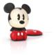 Philips Mickey Siyah Led Softpal Taşınabilir, Işık Veren Arkadaş