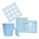 KullanAtMarket Mavi Puantiyeli Şeker Sunum Seti - 26 Adet
