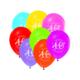 KullanAtMarket 40 Yaş Balon -10 Adet