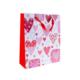 KullanAtMarket Kalpler Dünyasi Kirmizi Karton Çanta -1 Adet