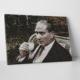 Mozaik Resim Atatürk Türk Kahvesi İçerken Mozaik Tablo