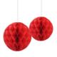 KullanAtMarket 2li Kırmızı Petek Fener - 2 Adet