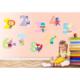 Sevimli Sayılar Sticker 35 x 14 cm