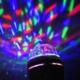 Pratik 360 Derece Dönen Renkli Dekoratif Disco Lamba