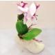 Pratik Topuklu Ayakkabı Tasarımlı Çiçekli Vazo