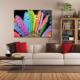 Tablom Renkli Yapraklar Kanvas Tablo