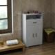 Sanal Mobilya Sorrento Çok Amaçlı Banyo Dolabı K4-G5-Ç3