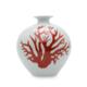 Beymen Home Legend Of Asia Whıte Pomegranate Vase Kırmızı Vazo