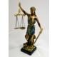 Adalet Heykeli 42 cm.
