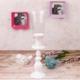 iHouse 23712 Dekoratif Şamdan Beyaz