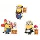 Modakedi Despicable 3'lü Minions 3D Duvar Sticker Minyonlar