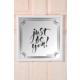 The Mia Dekoratif Ayna Just 39 * 39 Cm - Siyah