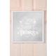 The Mia Dekoratif Ayna Things 39 * 39 Cm - Beyaz