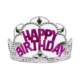 Kullanatmarket Happy Birthday Prenses Taç - 1 Adet