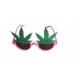 Partistok Yapraklı Parti Gözlüğü Pembe