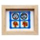 Cool Glass Design Yaz Aşkı Cam Duvar Süsü 16 x 20 cm El Yapımı